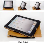 Apple iPad 2;Apple iPad 3;Apple iPad 4 Smart Tablethoes Zwart voor bescherming van tablet