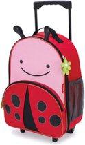 Skip Hop Zoo Lieveheersbeestje - Kinderkoffer - 41 cm - Roze