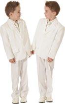 Jongens kostuum ivoor / off white-104