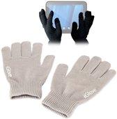 iGlove Touchscreen handschoenen (touch gloves), Licht grijs