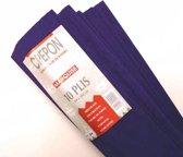 Crepepapier - 200 x 50cm - Paars - 10 Stuks