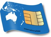 Data SIM kaart Oceanie 3GB
