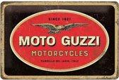 Wandbord - Moto guzzi motorcycles