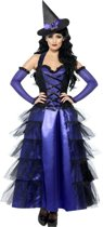 """""""Paarse Halloween heksen verkleedkostuum voor dames - Verkleedkleding - Large"""""""