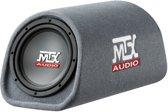 MTX Audio RT8PT - 8inch auto Subwoofer auto met ingebouwde versterker - 120Watt  - Grijs