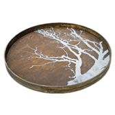 Notre Monde Dienblad White Tree - Bruin