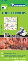 Michelin USA Four Corners Map 175