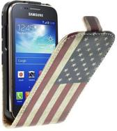 Flip case Usa vlag Samsung Galaxy Galaxy mini 2