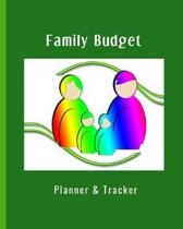 Family Budget Planner & Tracker: Budget planner and spending tracker, expenses records, goal setting management. Monthly overviews with weekly spendin