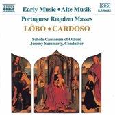 Lobo, Cardoso: Requiem Masses / Summerly, Schola Cantorum