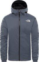 The North Face Quest Insulated Jacket Heren Outdoorjas - Vanadis Grey Black Heather - Maat M