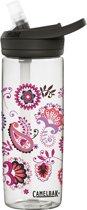 CamelBak Eddy+-Drinkfles-600 ml-Transparant (Floral Paisley)