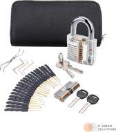 Complete Lock Pick Set 2.0 - 30 delig - Lockpicking Gereedschap - Uitstekend voor Beginners en Gevorderden - Uitgebreide Toolset - Survivalset