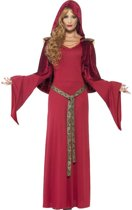 Rode priesteres kostuum voor dames  - Verkleedkleding - Medium