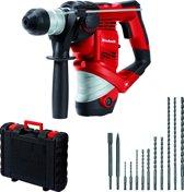 EINHELL TC-RH 900 Kit Elektrische Boorhamer - 900 W - 3 J - SDS-Plus - Inclusief 12-delige accessoireset / koffer