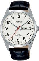 Pulsar PJ6065X1 horloge heren - zwart - edelstaal
