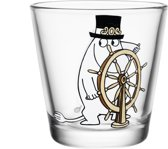 Iittala Moomin Glas - 21Cl - Moomin Pappa Aan Het Roer