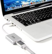 Orico - Mini DisplayPort naar HDMI adapter Zilverkleurig Mac Style geschikt voor Apple MacBook Air, Pro, iMac, Mac Mini en Mac Pro