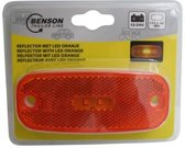 K-parts Fietsachterlicht / Staartreflector LED Oranje 111 X 45 mm