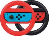 Qware Gaming - Nintendo Switch - Racestuur - rood - zwart
