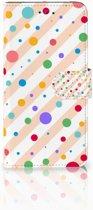 Motorola Moto E5 Play Boekhoesje Design Dots