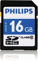 Philips SD kaart 16GB - Class 10 - Ultra Speed - SD Card