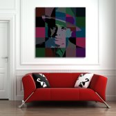 Al Capone Art on Plexiglass 80/80cm