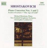 Shostakovich: Piano Concertos 1 & 2 / Houstoun, Lyndon-Gee