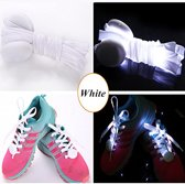 Led witte Schoenveters * Be a star * Carnaval * LED * Dance *
