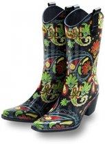 Luxe rubberen laarzen Paisley 40