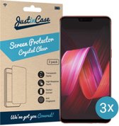 Just in Case Screen Protector Oppo R15 Pro - Crystal Clear - 3 stuks