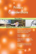 Privacy Considerations Third Edition