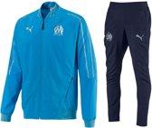 Puma Olympique Marseille Presentatie Trainingspak – Maat M – Kleur Blue Azur