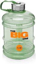 #DoYourFitness - Sportdrankfles - »TheBigOne« - waterfles / watercan van tritan materiaal - 1,9 Liter - groen
