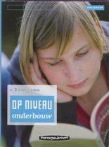Op Niveau Onderbouw 2 Havo Vwo Basisboek Lineair