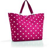 Reisenthel Shopper XL Strandtas - Shopper - Maat XL - Polyester - 35L - Ruby Dots Rood