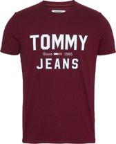 Tommy Hilfiger T-shirt Logo Bordeaux (DM0DM07067 - VA2)