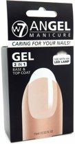 W7 Angel Manicure Gel Nagellak 2 in 1 Base- & Topcoat