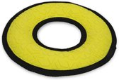 Beeztees Fetch Ring - Hondenspeelgoed - Rubber - Geel - Dia. 21,5 cm
