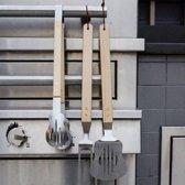 Kikkerland Gitaar BBQ tools (set van 3)