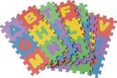 Puzzelmat - kinderpuzzels - speelmat - puzzel - foampuzzel 36-delig - puzzelmat foam - 12x12cm - GadgetQounts