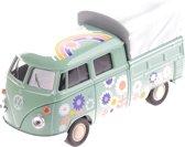 Toi-toys Miniatuur Volkswagen Pick-up Groen