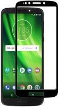 Motorola Moto G6 Play - Full Cover Screenprotector - Zwart