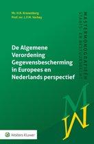 Mastermonografieën staats- en bestuursrecht - De Algemene Verordening Gegevensbescherming in Europees & Nederlands perspectief