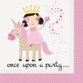 Princess Unicorn Servetten