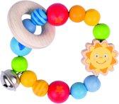Heimess | Grijring Zon (elastisch, zachte kleuren)