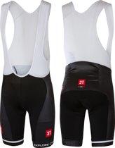 Castelli 3T Pro - Fietsbroek - Bretels - Maat XL - Zwart/Wit