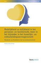 NILG - Familie en recht - Redelijkheid en billijkheid in het personen- en familierecht, meer in het bijzonder in het huwelijks- en echtscheidingsvermogensrecht
