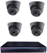 Honeywell 4MP IP PoE beveiligingscamera set 4CH NVR + 4 x Camera's