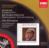 Mahler: Symphony No. 9; Strauss: Metamorphosen; Tod und Verklarung